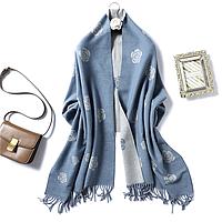Большой женский шарф 200*65 Осень Зима, фото 1