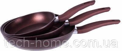 Набор сковородок Royalty Line Wine RL-FR3D 3pcs