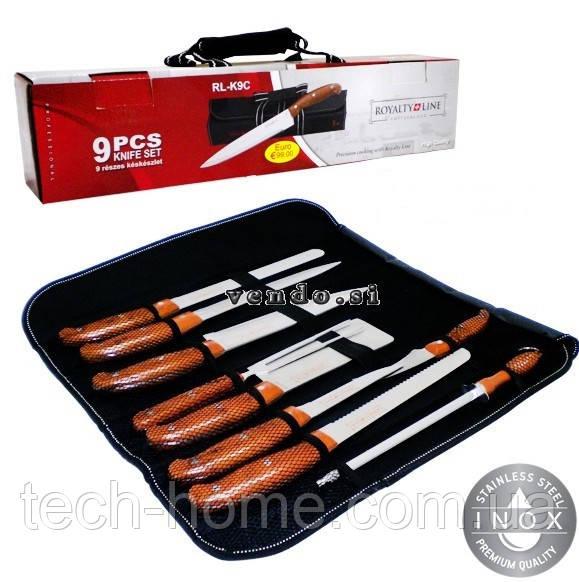 Набір ножів Royalty Line RL-K9C 9 pcs