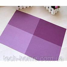 Сервірувальні килимки для столу Home Essentials (фіолетовий) 4 шт