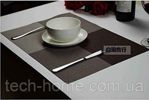 Сервировочные коврики для стола Home Essentials ( коричневый) 4 шт