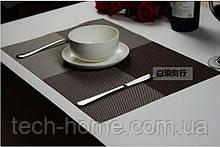 Сервірувальні килимки для столу Home Essentials ( коричневий) 4 шт