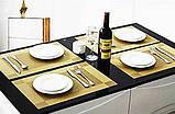 Сервировочные коврики для стола 4 шт, фото 3
