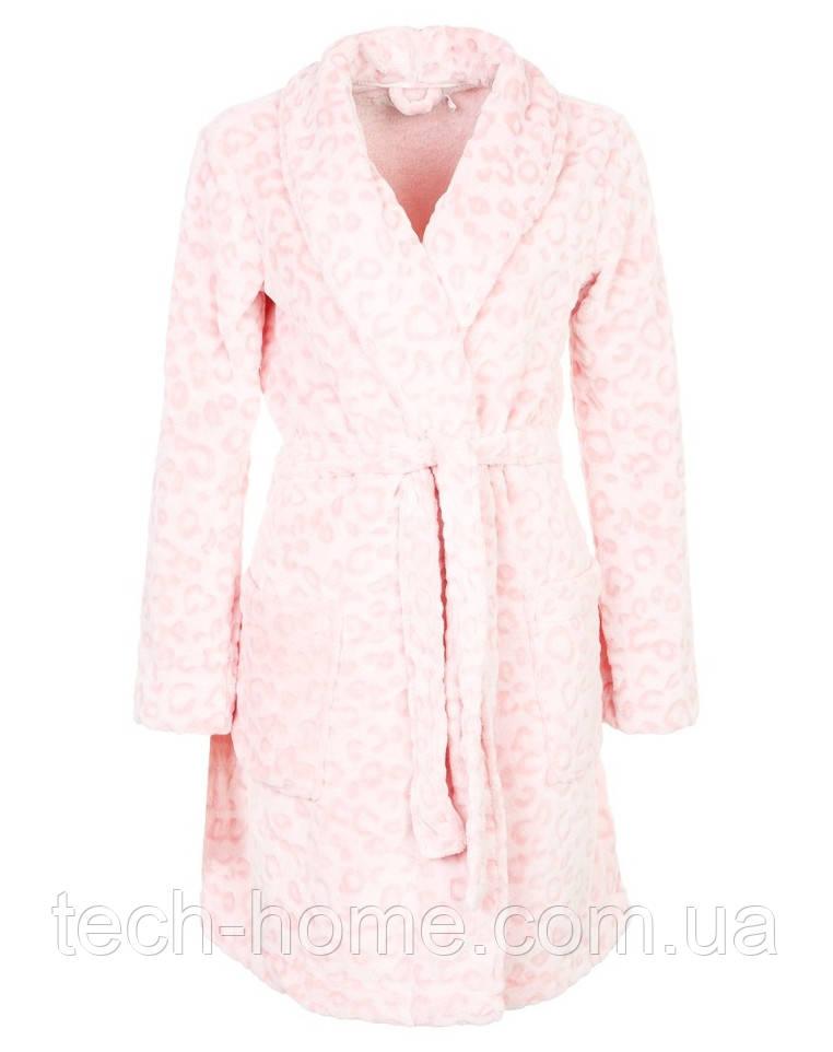 Халат флисовый (розовый) Women'secret S