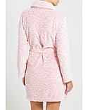 Халат флисовый (розовый) Women'secret S, фото 4