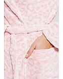 Халат флисовый (розовый) Women'secret S, фото 5