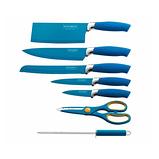Набір ножів Royalty Line RL-BLU8W 8 pcs, фото 2