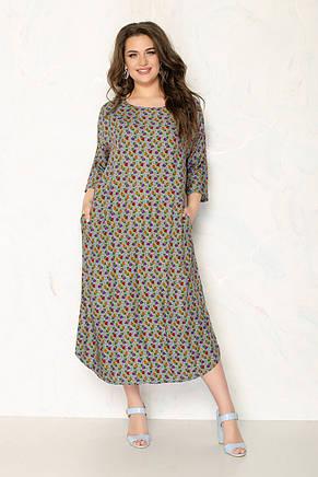 Женское летнее платье 1287-13, фото 2