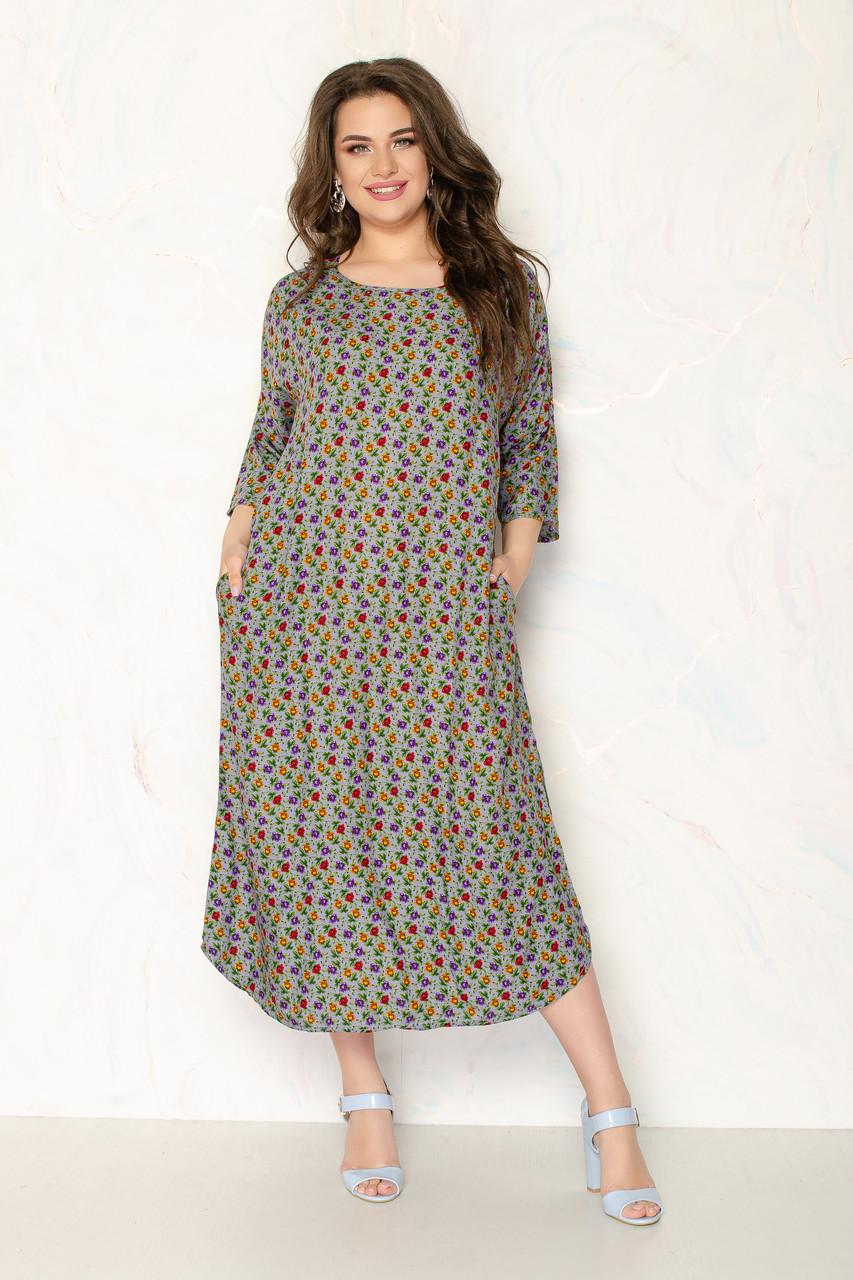 Женское летнее платье 1287-13