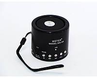 Колонка портативная WSTER WS-A8 с MP3 USB и FM-pадио Black (flo1018hh)