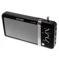 Колонка портативная Atlanfa AT-8956 с MP3 USB и FM-pадио Черный (flo1020hh)