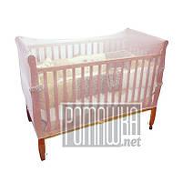 Сетка для детской кроватки 120*60 h=70см универсальная от мух и комаров альтернатива детского балдахина