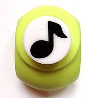 Дырокол фигурный Нота кнопка 1,8 см