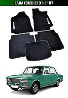 Килимки Lada (Ваз) 2101-2107. Текстильні автоковрики, фото 1