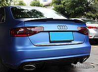 Спойлер багажника ( сабля, лип спойлер ) Audi A4 B8 2012-2015 г.в. рестайлинг