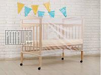 Москитная сетка на детскую кроватку 120*60 h=70см универсальная противомоскитная сетка для детской кроватки