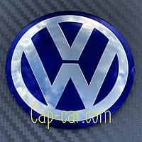 Наклейки для дисков с эмблемой Volkswagen. ( Фольцваген ) Цена указана за комплект из 4-х штук