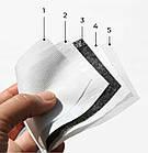 Фильтр прямоугольный сменный, угольный, 5-слойный для масок PM2.5 (12 x 8 см), фото 3