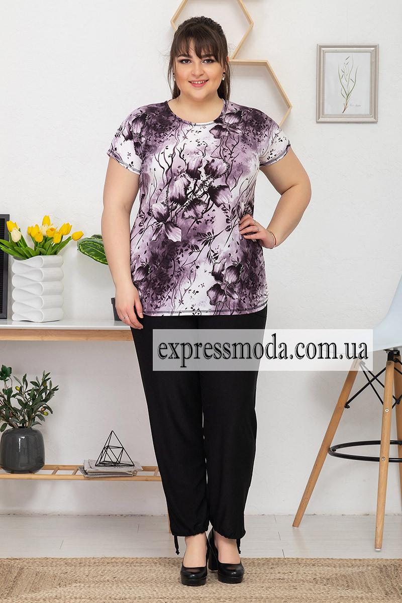 Костюм с брюками ВЕТКА фиолет