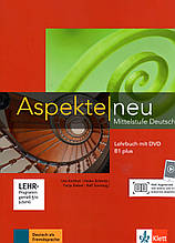 Підручник Aspekte 1 Neu B1+ Lehrbuch mit DVD