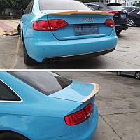 Спойлер багажника ( сабля, лип спойлер ) Audi A4 B8 2007-2012 г.в. дорестайлинг