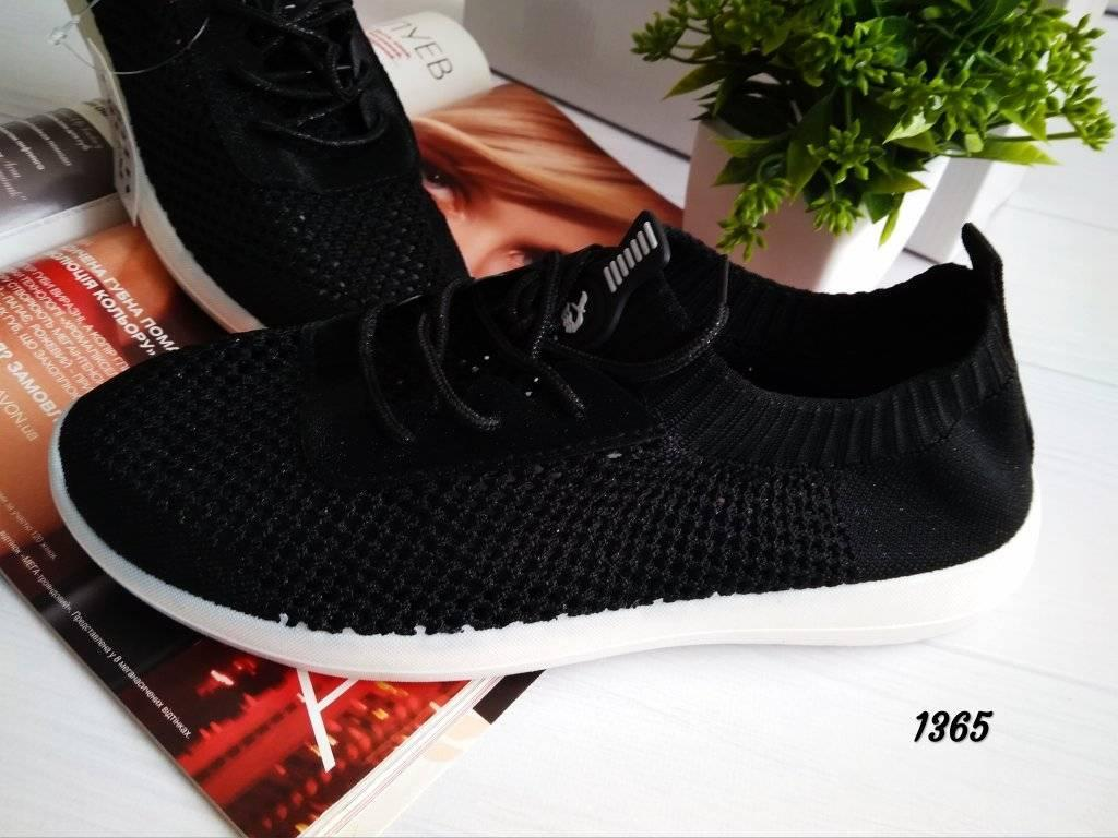 Женские кроссовки обувный текстиль