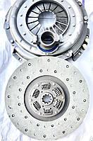 Комплект сцепления ЗИЛ 130 ЗИЛ-Бычок производства Триал «Железная хватка» / 130-1601090