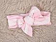 """Муслиновый конверт з шапочкою """"Shery"""", рожевий, фото 6"""