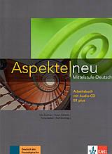 Робочий зошит Aspekte 1 Neu B1+ AB mit Audio-CD