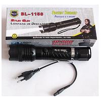 Светодиодный аккумуляторный фонарик отпугиватель Police BL-1158