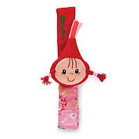 Погремушка-браслет Lilliputiens Красная Шапочка (86872)