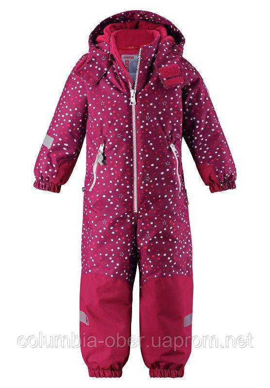 Зимний комбинезон для девочки Reimatec Kiddo 520225B-3698. Размеры 116 и 140.