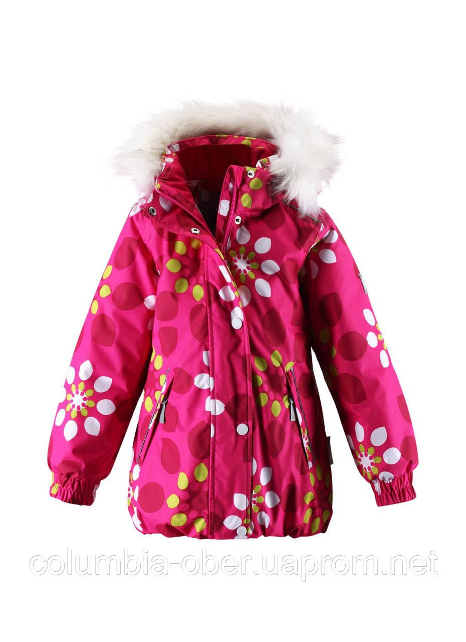 Зимняя куртка для девочек ReimaTec Zaniah 521361 -  4623. Размеры 104 - 128.