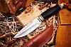 Нож нескладной 602ST с лезвием из коррозионностойкой хромистой стали, известной своей высокой износостойкостью