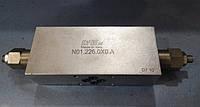 Двухсторонний тормозной клапан Luen серии N01.026.0X0.A (A-OWC-60-DE-38-LU-FC2-OIL-X замена 001.027.0X0)