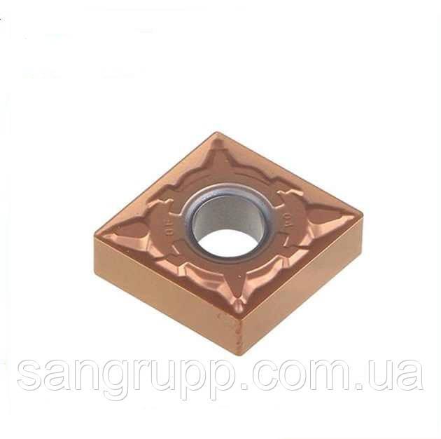 Твердосплавна Пластина для токарного різця CNMG 120404-DF