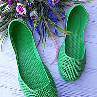 Мыльницы женские зеленые,кроксы для воды ,обувь летняя