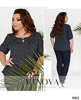 Жіноча літня блуза з софту, фото 1