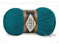 Alize Lana Gold, Павлиновый зеленый №640