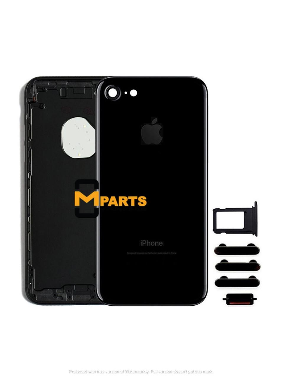 Крышка корпус для iPhone 7 back cover jet black