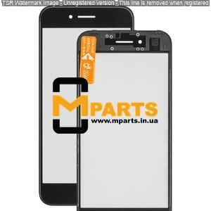Стекло для переклейки с OCA пленкой для iPhone 7 glass + OCA Film with frame black