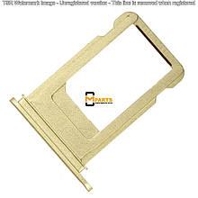 Лоток для iPhone 7 (Sim холдер) gold orig