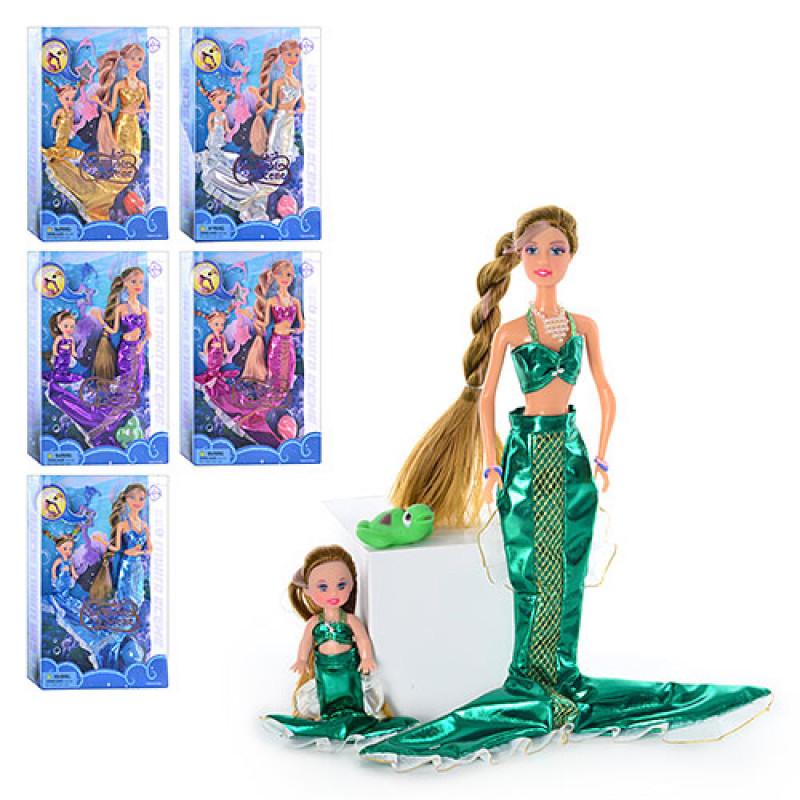 Кукла Defa русалка с дочкой
