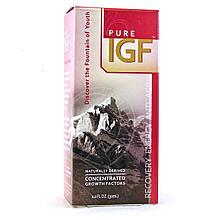 Pure Solutions, Pure IGF, Чистый Инсулиноподобный фактор роста (ИФР), 30 мл, Оригинал из США