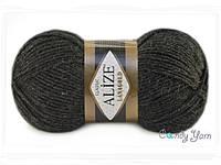 Alize Lana Gold, Темно-серый меланж №151