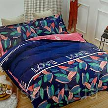 Комплект постельного белья из фланели евро размер ТМ Prestij Textile 471807