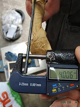 Вольфрамовий прут ВА 4мм - 0,3 м