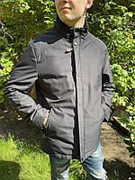 Куртка парка удлиненная классика Мужская весна осень на синтепоне