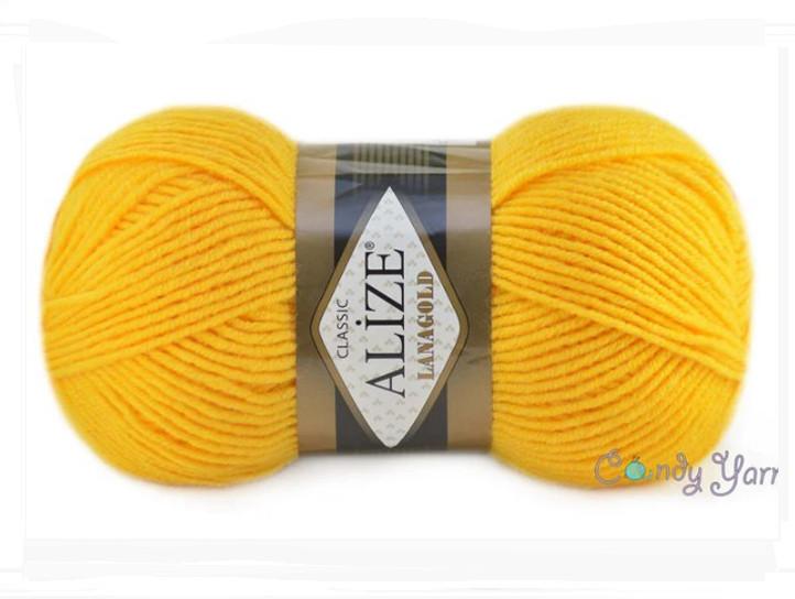 Alize Lana Gold, Желтый №216