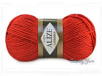 Alize Lana Gold, Красный №56